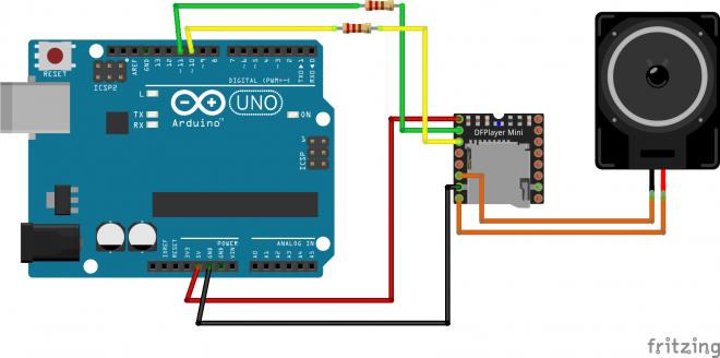 Cara Mudah Memprogram DFPlayer Mini MP3 Module Dengan Arduino