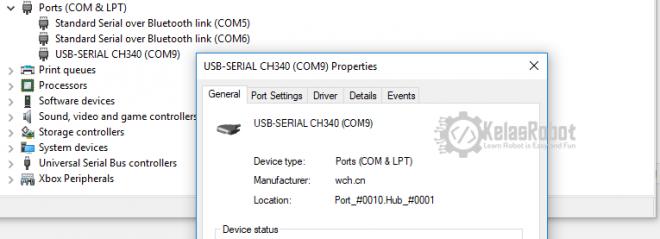 Cara Install USB Driver CH340G CH340 untuk Arduino