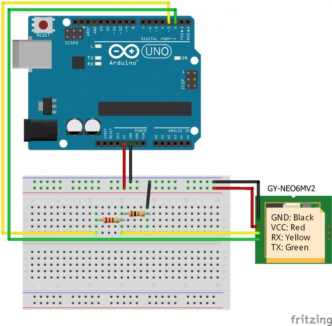 Cara Mudah Program Baca Data Google Maps GPS UBLOX NEO 6M Module Dengan Arduino