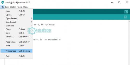 2 Cara Sukses Menambahkan Board ESP8226 ke Arduino IDE!