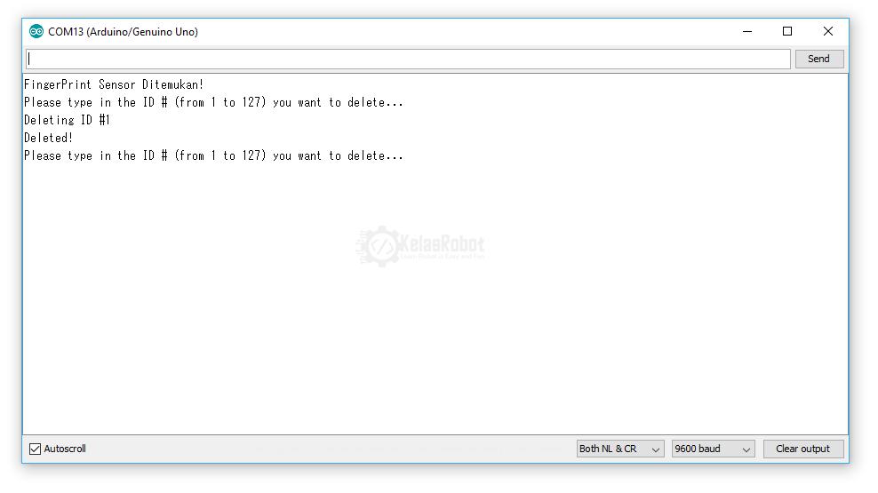 Cara Mudah Program FingerPrint Dengan Arduino (ENROLL