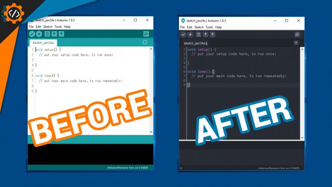 Mengubah Tampilan Arduino IDE menjadi Modern ala OneDarkPro
