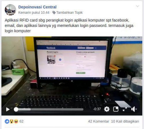 Cara Akses Login Komputer Dan Facebook Menggunakan E-KTP – Arduino Project