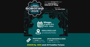 Seminar Robotika 2019 – Robotic dan IoT