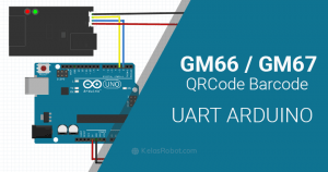 TUTORIAL GM66 UART QRCode Barcode For Arduino